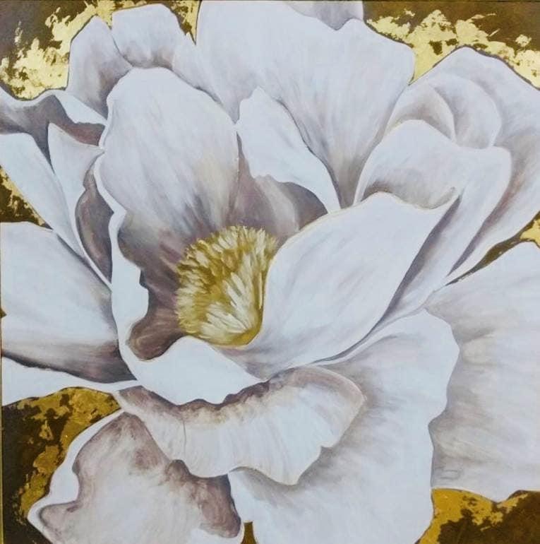 Cuadro Decorativo Aroma (Flor) - Këssa Muebles