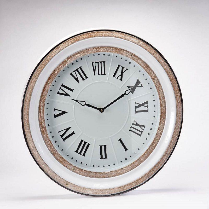 Reloj Pared Dorado - Këssa Muebles