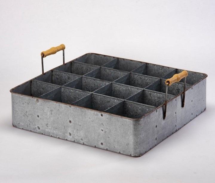 Porta Botellas Metal - Këssa Muebles