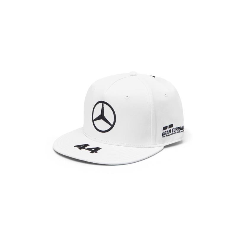 Gorra Lewis Oficial Flat Brim Mercedes AMG Petronas NUEVO