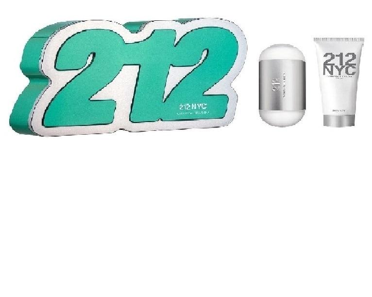 ESTUCHE 212 PARA DAMA EAU DE TOILETTE 80ML  BODY LOTION 100ML