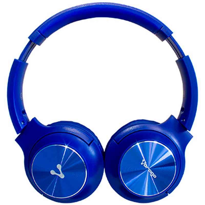 Diadema VORAGO HPB-200 Plegable Bluetooth 3.5MM Azul HPB-200-BL