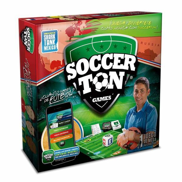 Soccerton Game - Juego de Mesa de Futbol - Soccerton
