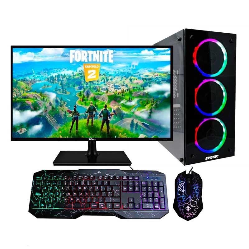 Pc Gamer Xtreme Amd A8 9600 Ram 8Gb Disco 1TB Graficos Radeon R7 Monitor Led 195 Kit