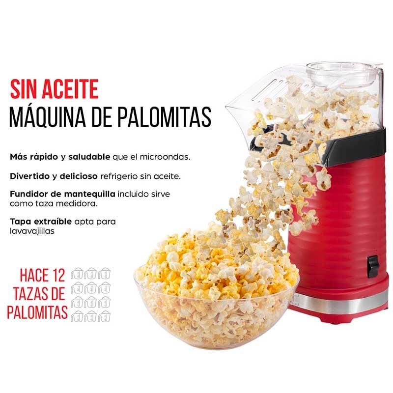 MAQUINA PARA PALOMITAS DE AIRE CALIENTE SIN ACEITE  RJ33-T CHEFMAN