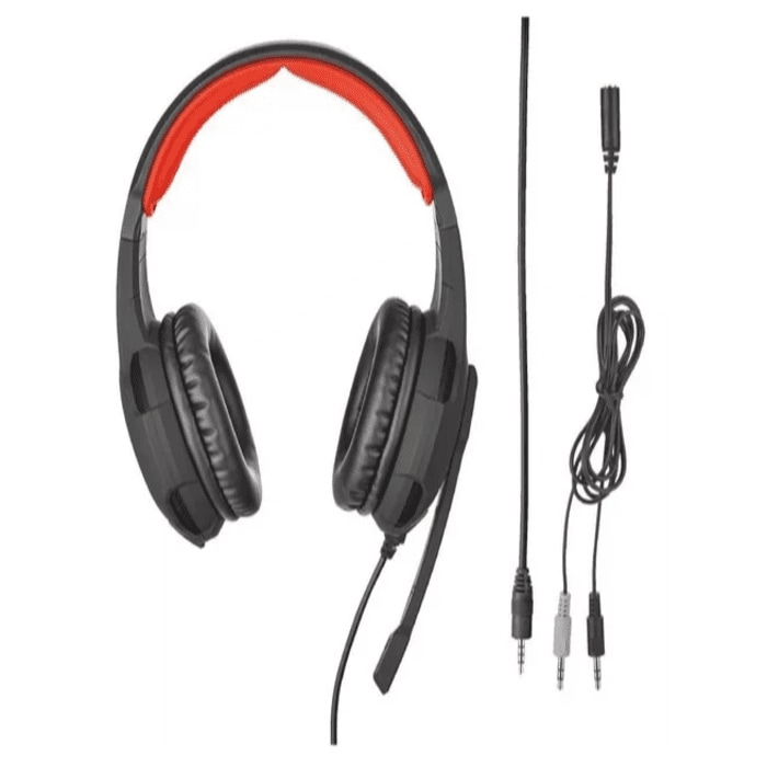 Set De Audífonos Y Mouse Para Videojuegos Modelo GXT 784 Marca TRUST