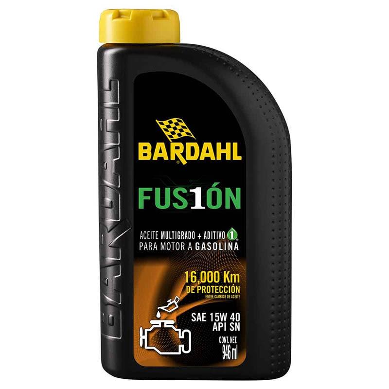 Aceite Bardahl Fusión 16000 Km 15W40 SN 946 Ml