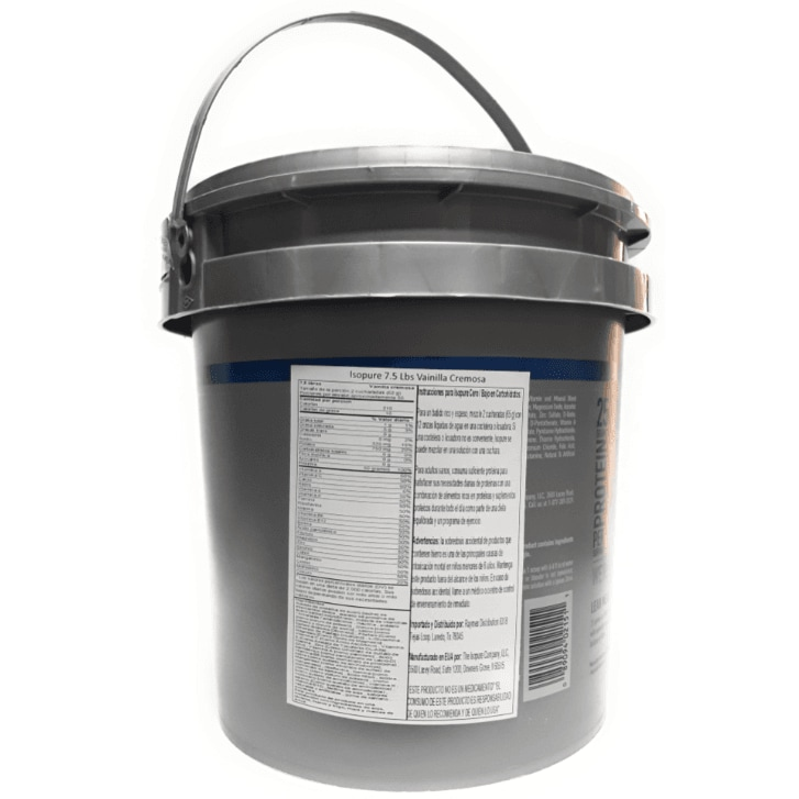 Proteína Cero Carbohidratos Isopure con 7.5 libras sabor Vainilla