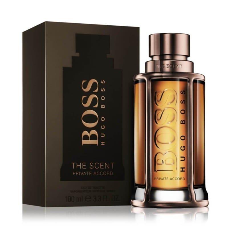 Perfume Boss The Scent Private Accord para Hombre de Hugo Boss EDT 100ML
