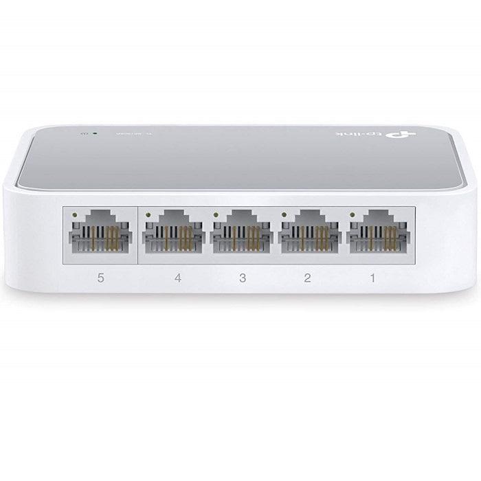 Switch 5 Puertos Tp-Link 10/100 Mbps TL-SF1005D Plug & Play