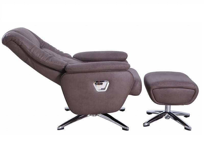 Sillon Reclinable BT70808A Chocolate - Këssa Muebles