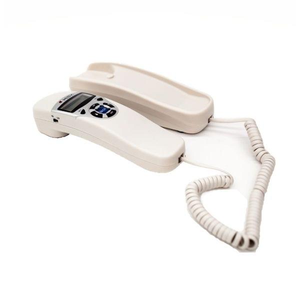 Teléfono Alambrico MISIK MT880W Blanco Con Identificador