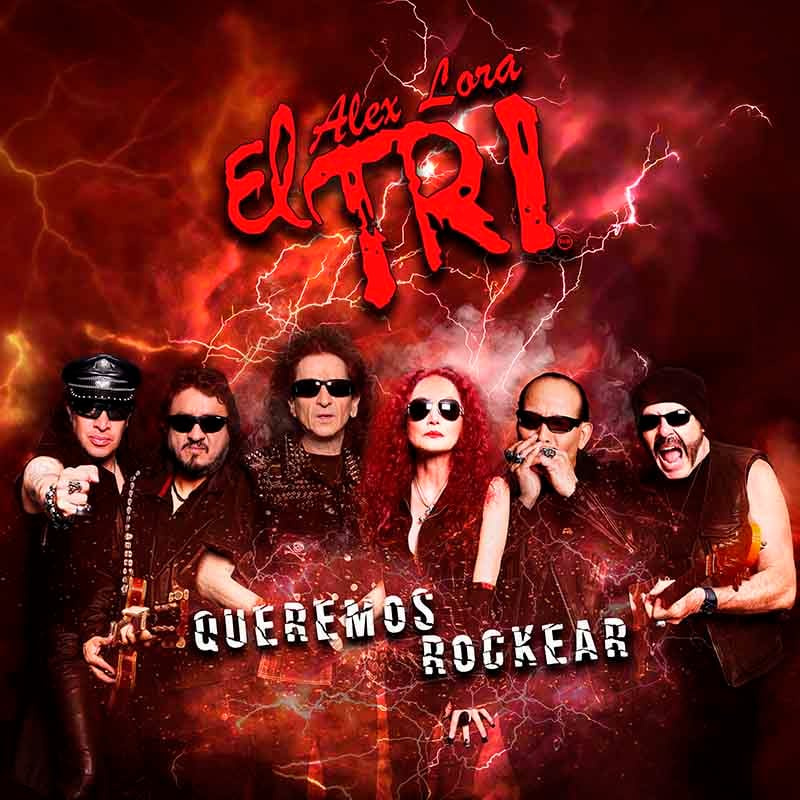 3DVDs + CD EL TRI QUEREMOS ROCKEAR