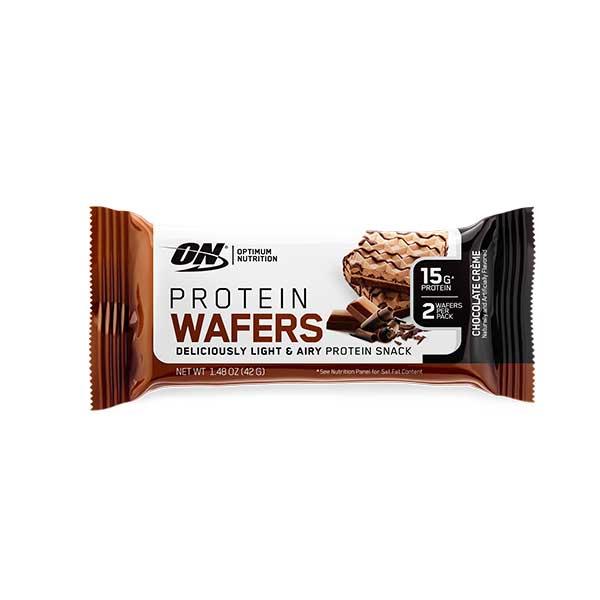 Wafer de Proteína Sabor Chocolate (9 Packs)