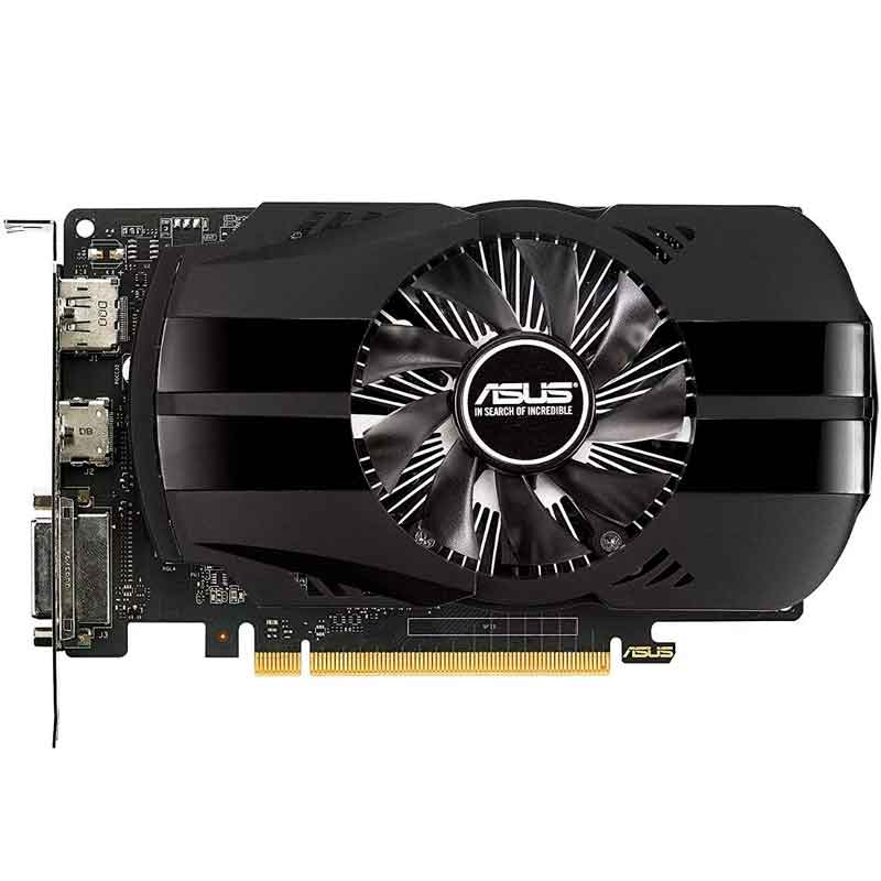Tarjeta de Video ASUS GeForce GTX 1050 Ti 4GB GDDR5 PH-GTX1050TI-4G