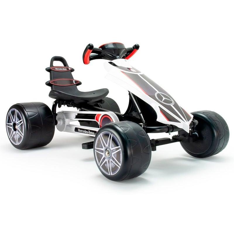 Montable Go Kart Infantil Niño Juguete Mercedes Flecha Injusa