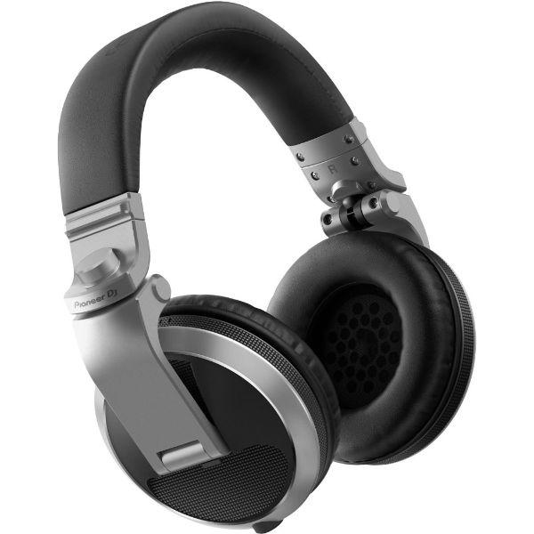 Auriculares DJ PIONEER HDJ-X5-S Plata Diadema Plegables