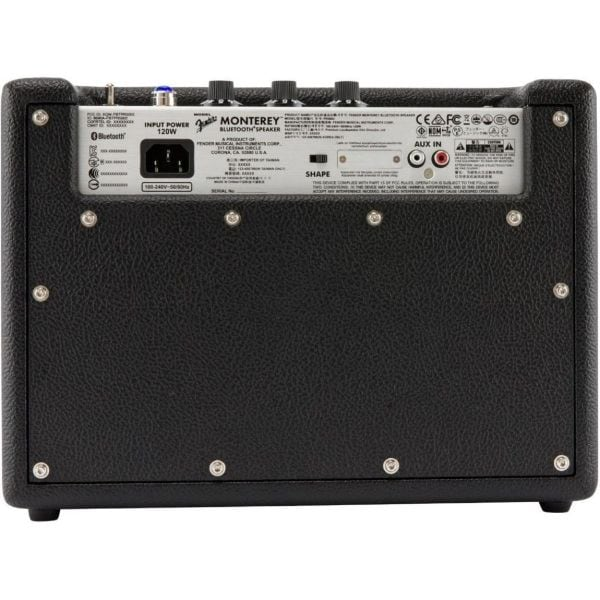 Bocina Bluetooth FENDER MONTEREY Negro 120W Entrada auxiliar