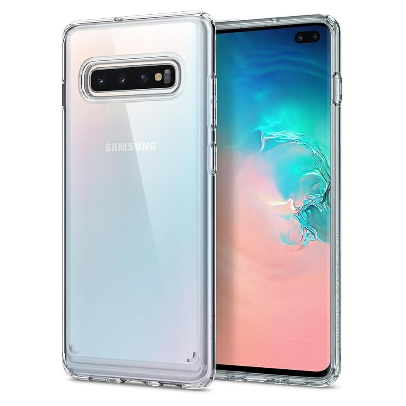 Funda Transparente Crystal Hybrid Galaxy S10 PLUS Spigen