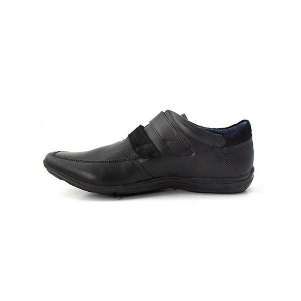 Incognita zapato para hombre, casual, tipo piel, negro 055C07