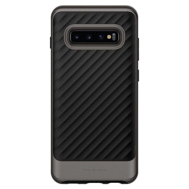 Funda Gunmetal Neo Hybrid Galaxy S10 PLUS Spigen