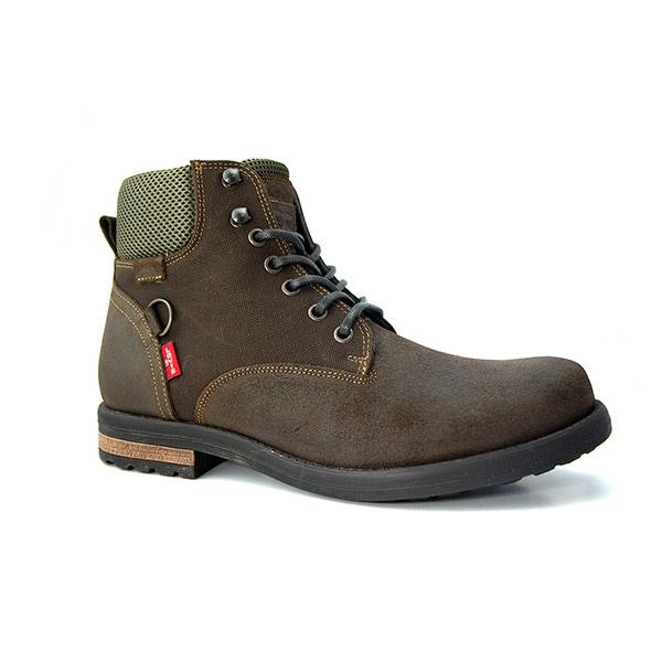Levi´s, botas para hombre, casual, piel, café, 064C13
