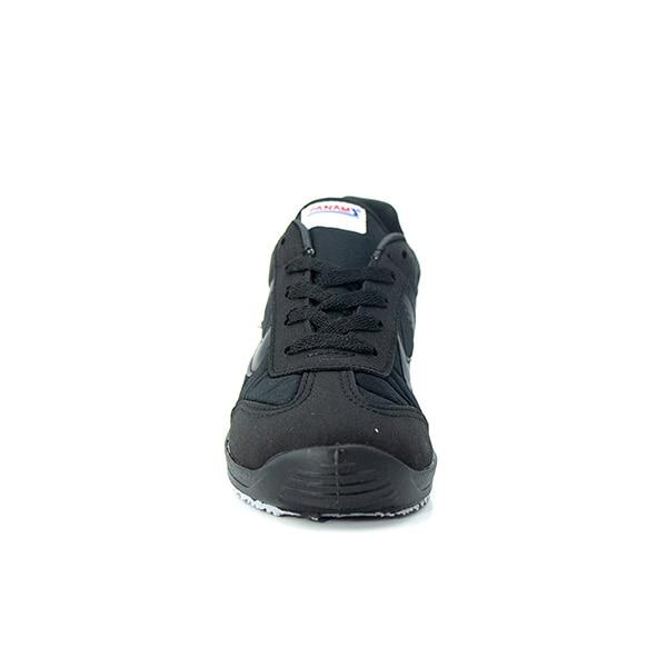 Panam tenis para hombre, casual, textil, negro 126C09