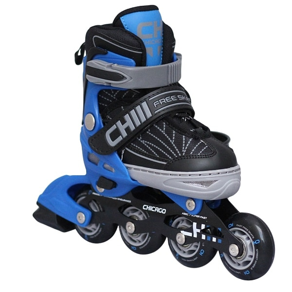 Patines Ajustables Chicago Para Niños Blue