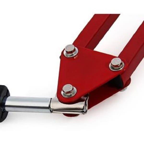 Soporte Base Brazo Ajustable Para Microfono Condensador Bm800 Bm8000 Bm700 Color Rojo