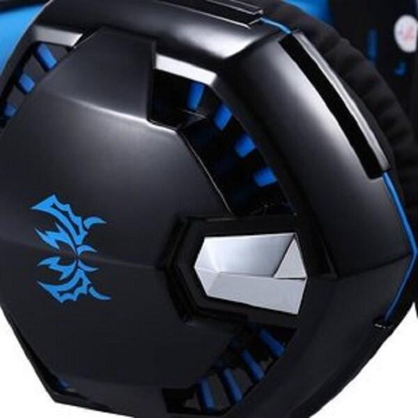 Audifono Diadema Gamer Microfono Pc Multimedia Gaming G2000 Color Azul