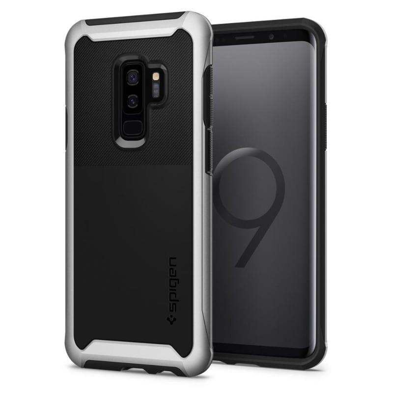 Funda Plata Artico Neo Hybrid Urban Galaxy S9 Plus Premium Spigen