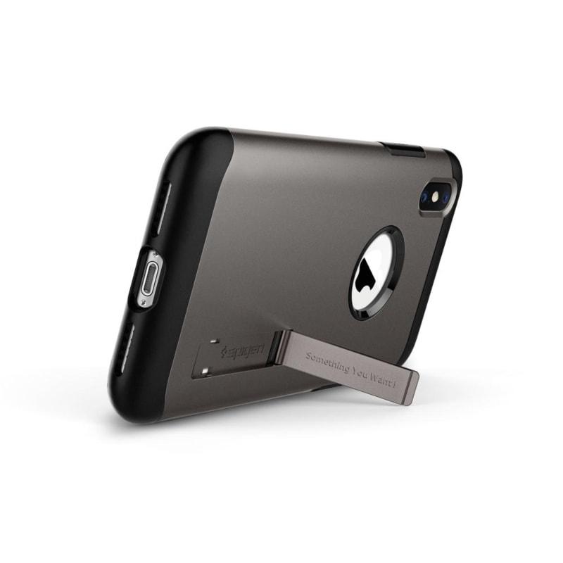 Funda Gunmetal Slim Armor iPhone XS Max Spigen