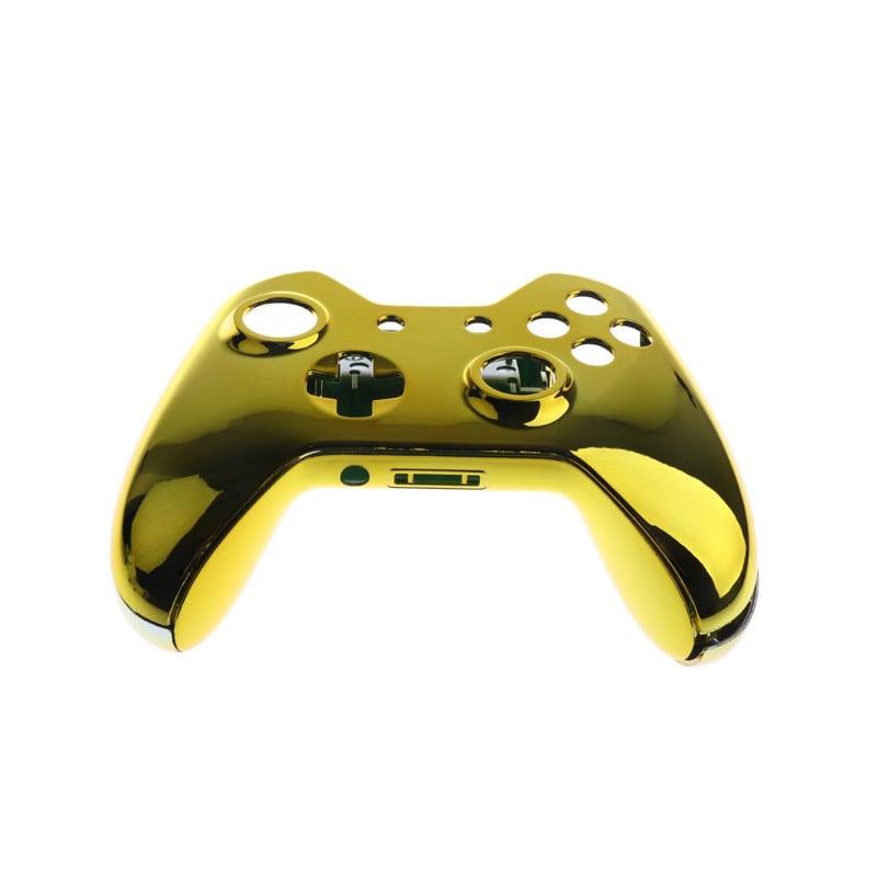 Xbox One S / X Carcasa Exterior Compatible Con Entrada de aud[ifonos (Oro)