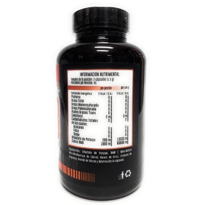 Suplemento Alimenticio HMB 90 cápsulas Advance Nutrition
