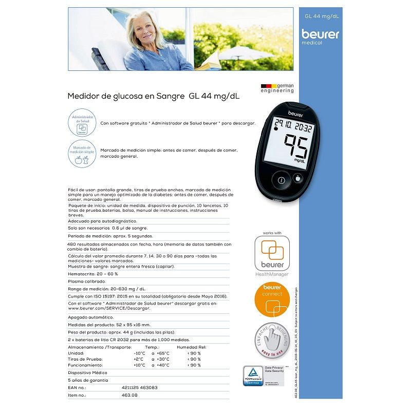 kit de prueba de sangre para diabetes gratis
