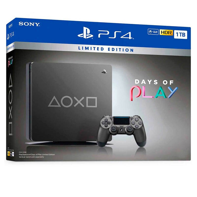 Ps4 Slim Consola 1 Tb Edición Days Of Play