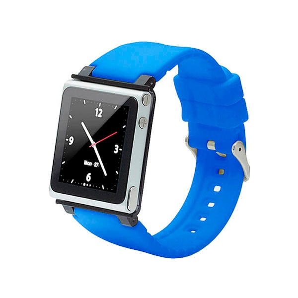 Correa Iwatchz Apple Para Ipod Nano 6g Color Azul Modelo Clrchir22bl