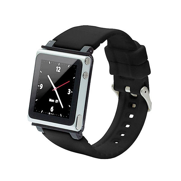 Correa Iwatchz Apple Para Ipod Nano 6g Color Negro Modelo Clrchr22blk