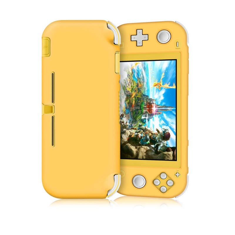 Nintendo Switch Lite Funda Silicona (Amarilla)