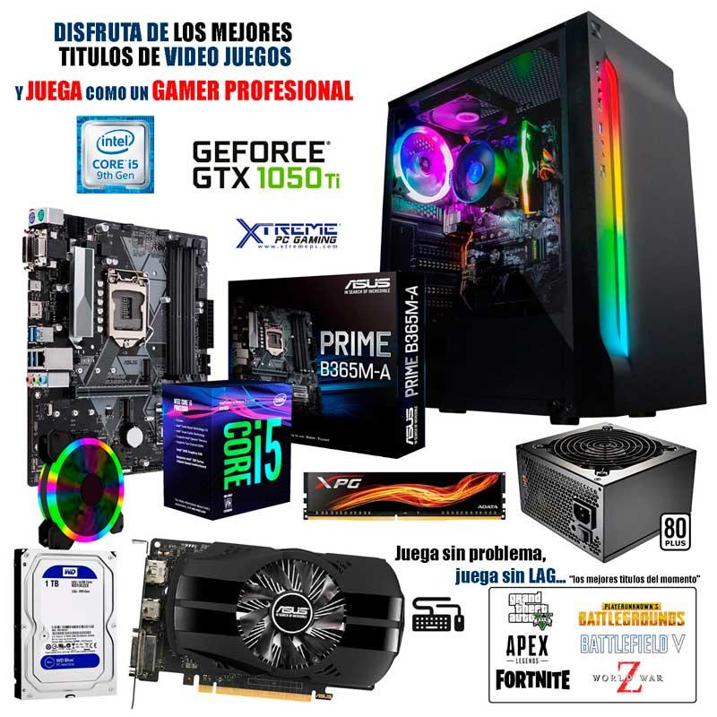 Pc Gamer Xtreme Intel I5 9400 8gb 1tb Nvidia Gtx 1050 TI 4gb