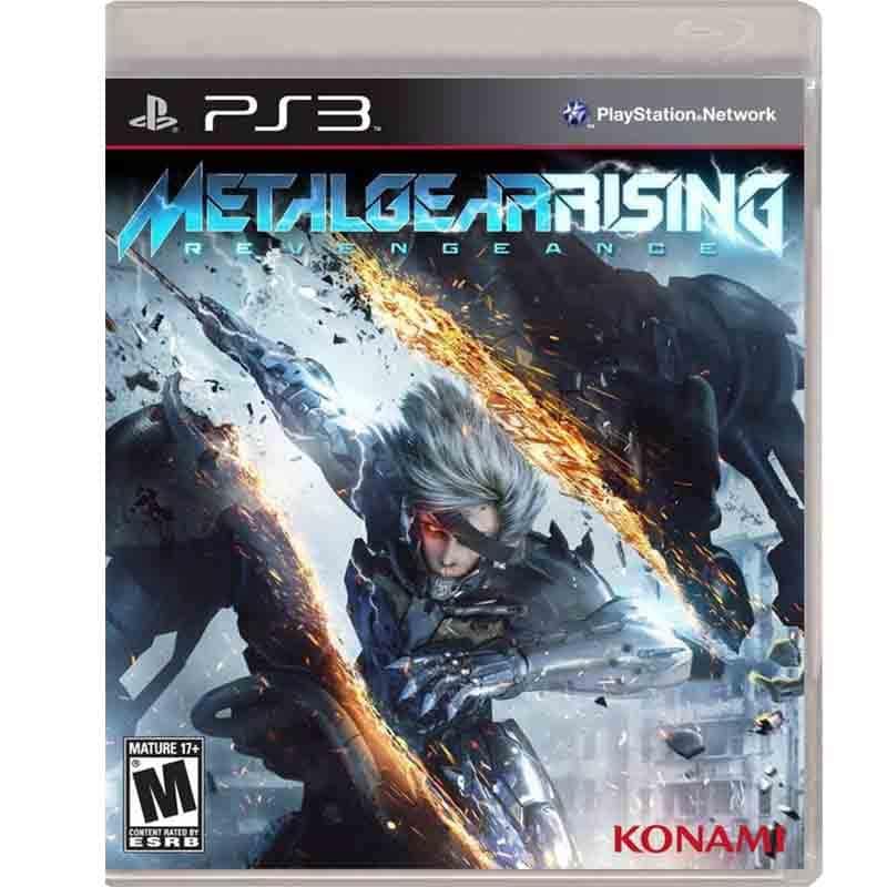 Ps3 Juego Metal Gear Rising Revengeance
