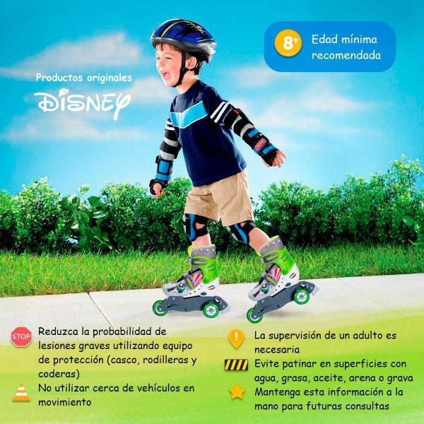 Disney Patines Lol Surprise Frozen Linea Ajustable Llanta Luz 18-21