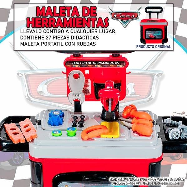 Disney Maletin Con Ruedas tematicas belleza doctor herramientas cocina  Frozen Princesas Minnie Cars Juguete 71606-12