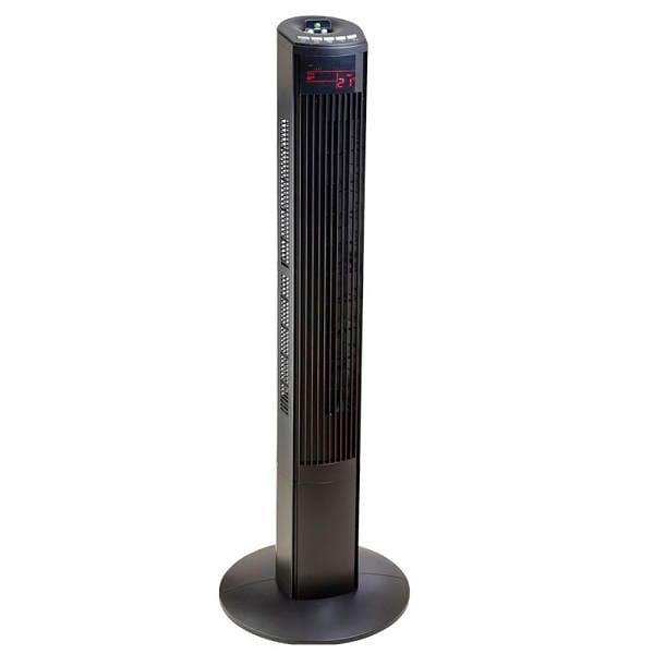 Ventilador de torre Mytek 46 pulgadas 3 velocidades control remoto color negro modelo MY-3358