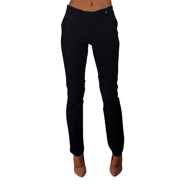 Incognita Pantalón Para Mujer De Vestir Formal Marino Cómodo , 330414