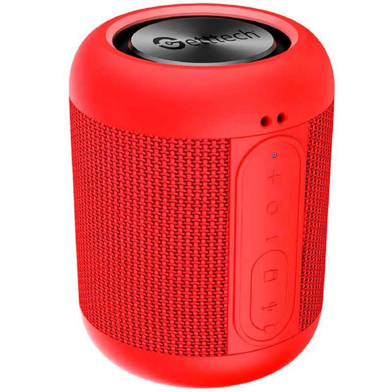 Bocina GETTTECH LOUD SG230 Bluetooth Manos Libres MicroSD Rojo GAL31502R