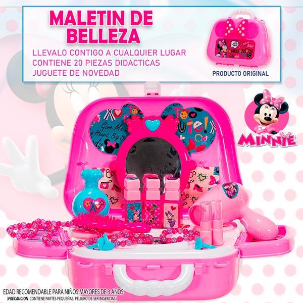Disney Maletin Juguete Frozen Minnie Cocina Belleza