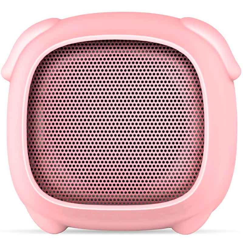 Bocina Kid GETTTECH Bluetooth Manos Libres Luz Led Puerco GAP31503