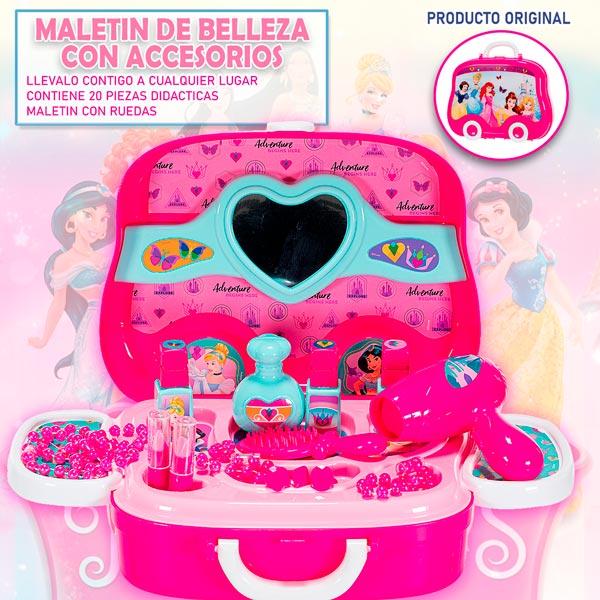 Disney Maletin Ruedas Juguetes Frozen Cars Princesas Niños Niñas belleza cocina herramientas