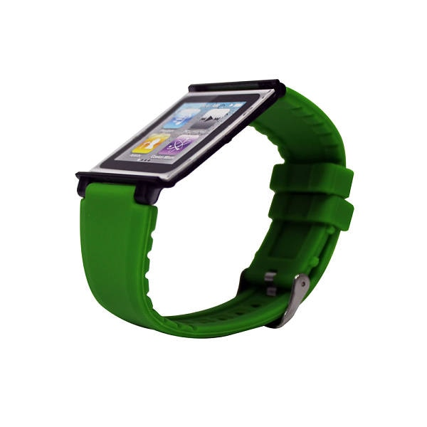 Correa Iwatchz Apple Para Ipod Nano 6g Color Verde Modelo Clrchir22g2g